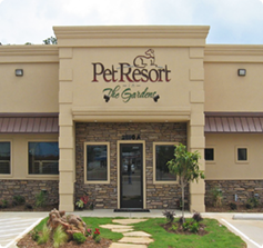 Pet Resort in the Gardens Storefront