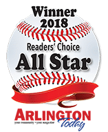 Winner 2018 Readers' Choice All Start Arlington Today